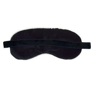 eye mask velvet back nomad design