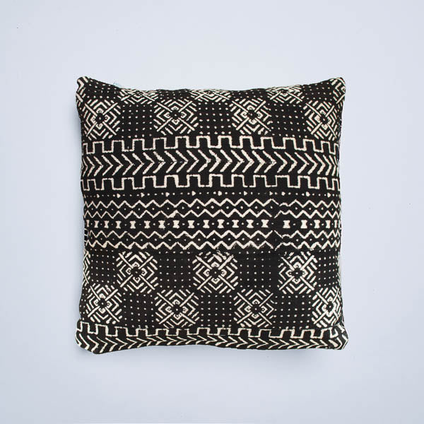Black River Mudcloth Cushion