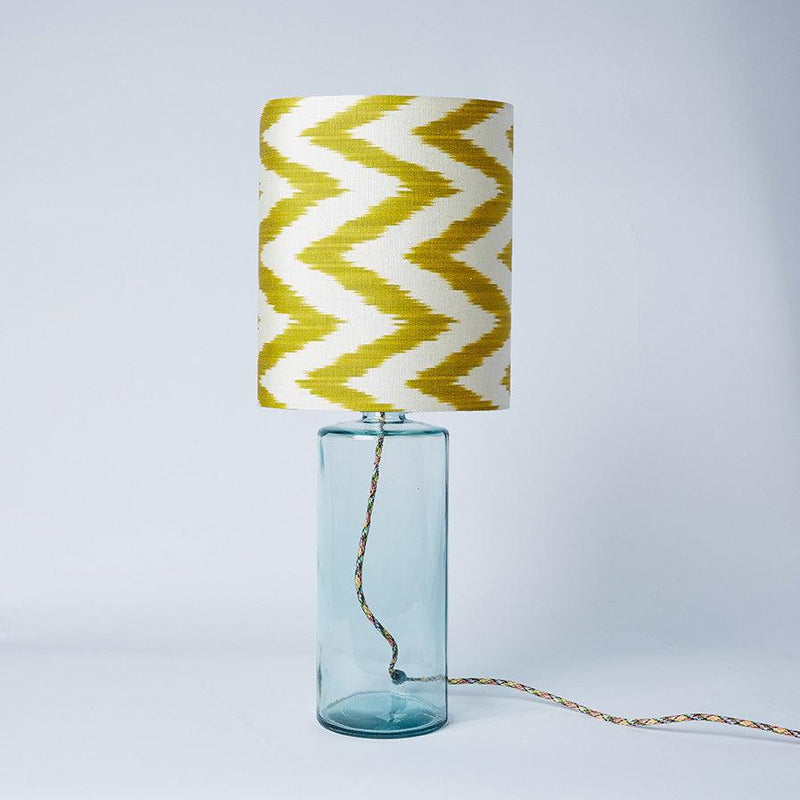 Celery Frankie Oval Lampshade
