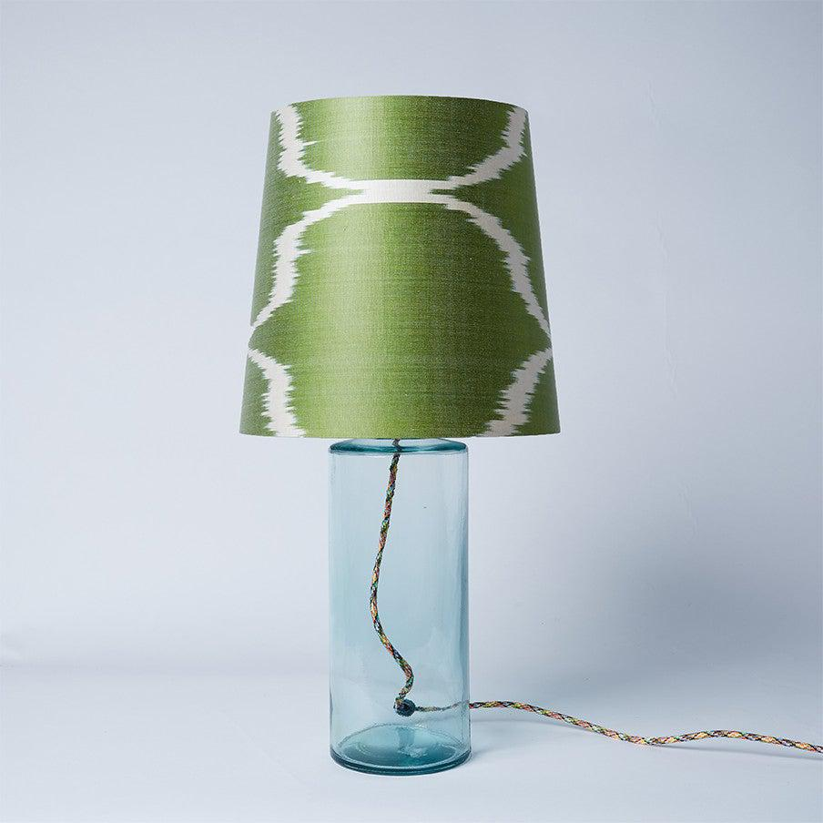 Green Sophie French Drum Lampshade