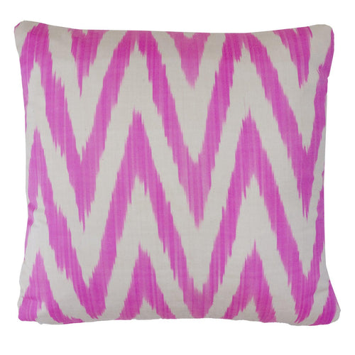 Pale Pink Frankie Ikat Cushion