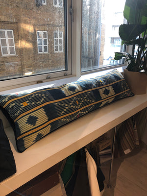 Super King Baulé Ikat Bolster