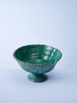 large green tamegroute fruit bowl nomad design