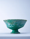 large green tamegroute fruit bowl nomad design side view