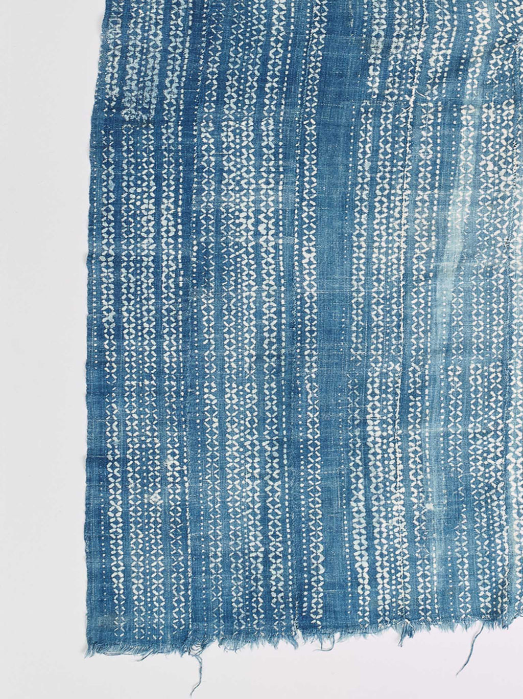 pale blue indigo mali indigo cloth nomad design