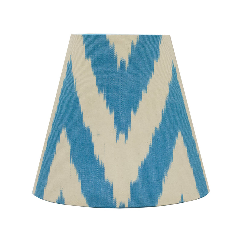 Electric Blue Frankie Candle Shade