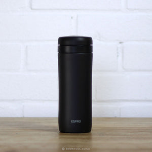 Espro Travel Press in Meteorite Black