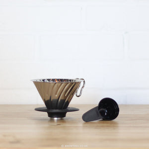 Hario V60 Metal Coffee Dripper 02