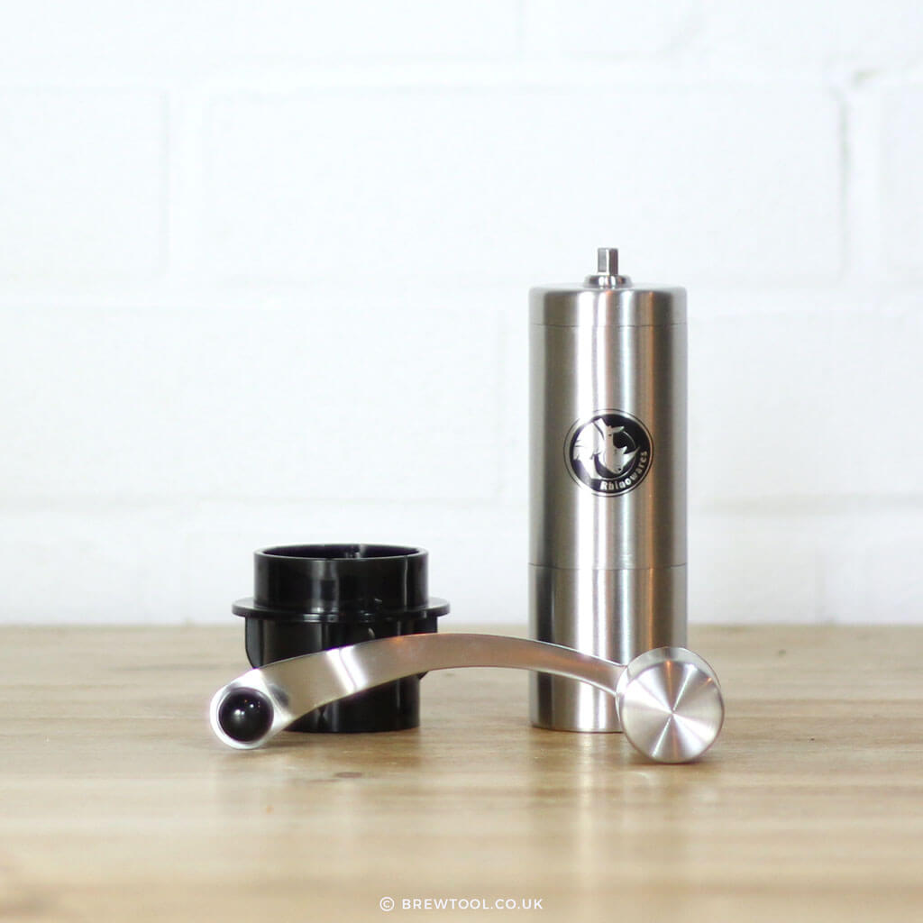 Rhino Hand Coffee Grinder & AeroPress Adaptor