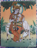 Cow Krishna Devotion