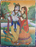 Radha and Krishna with Flute