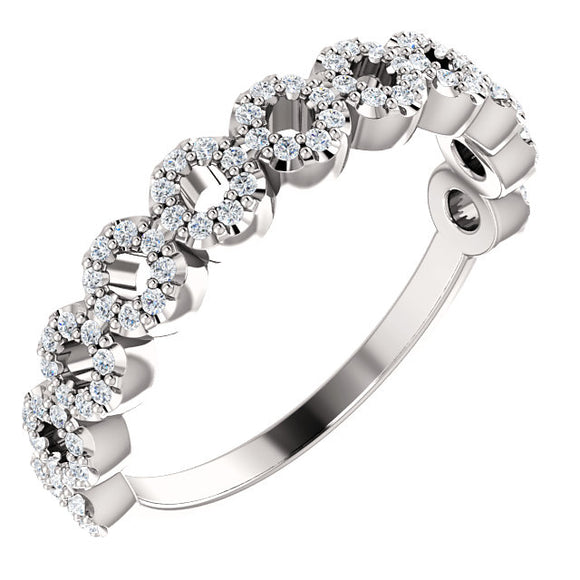 Diamond Circle Ring