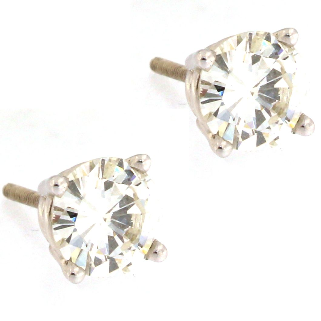 Diamond Stud Earrings (2.5 carats)