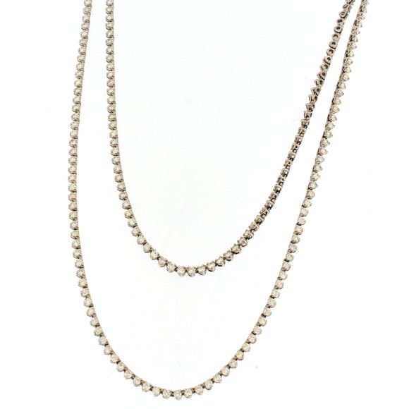 Extra-Long Tennis Necklace (10 ctw)