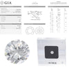 1.09CTW F VS2 GIA Round Brilliant Cut Engagement Ring Loose Diamond 6203507098