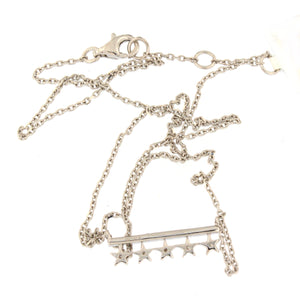 Star Bar Diamond Necklace
