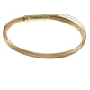 Tiffany & Co. Multi-Strand Wire Bangle Bracelet 18k Yellow Gold Cable w/Box