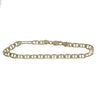 Anchor Marine Chain Link Bracelet Solid 14k Yellow Gold 5mm 8.25inches 11.4g