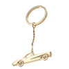 1960s Vintage Classic Chevy Car Key Ring Charm Holder Solid 14k Yellow Gold 21.8g