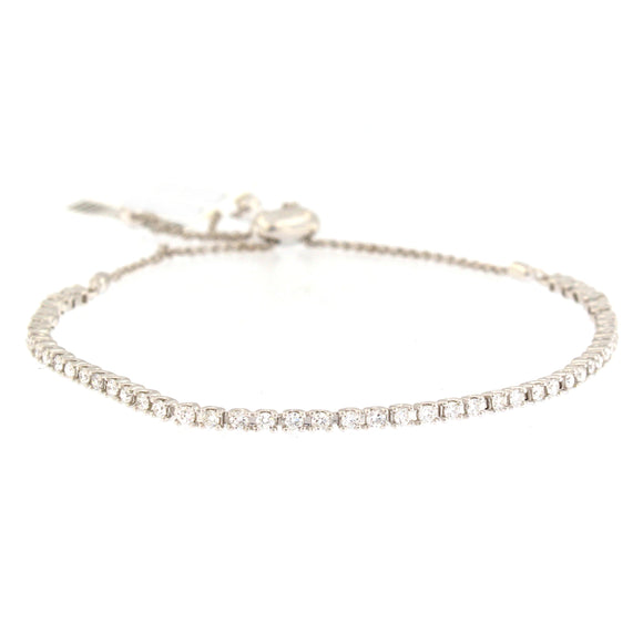 Classic Adjustable Diamond Bracelet