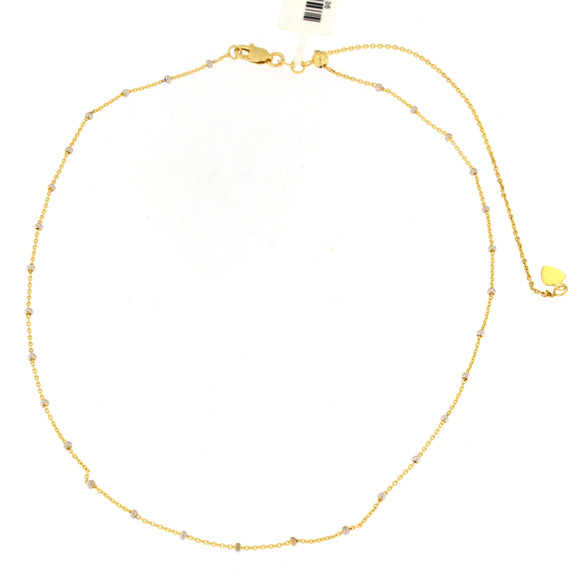 Gold Beaded Choker