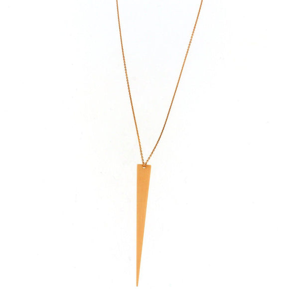 Drop Triangle Necklace
