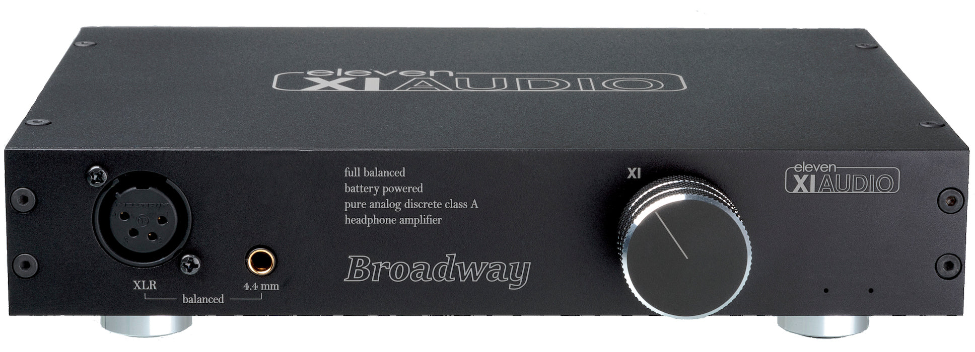 Broadway By Eleven Audio Xiaudio Fully Balanced Battery Headphone Class A Amplifier