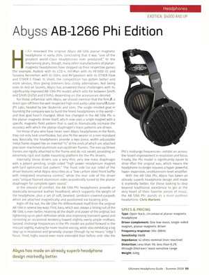 Abyss AB-1266 Phi TC Headphone