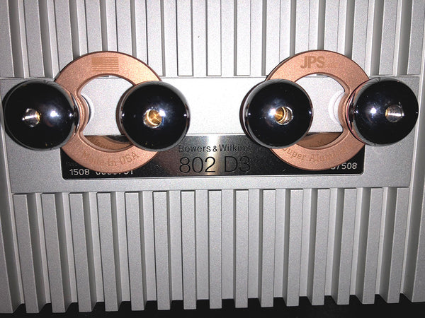 Bowers Wilkins 800 802 803 Biwire Jumpers by JPS Labs