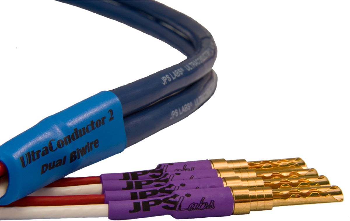 JPS Labs UltraConductor 2 Biwire Speaker Cable Pair - The Evolution ...