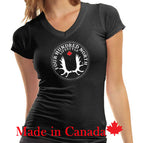 Ladies Bamboo V-Neck