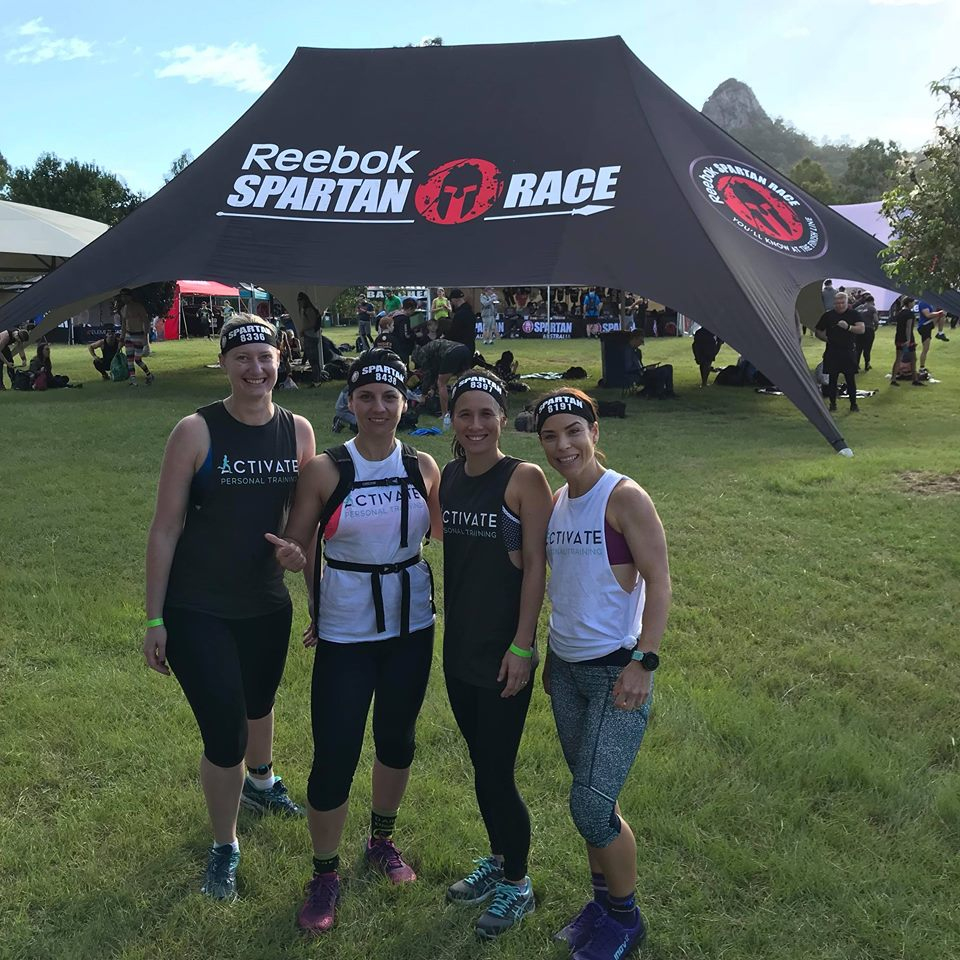Team Activate at the Spartan Race