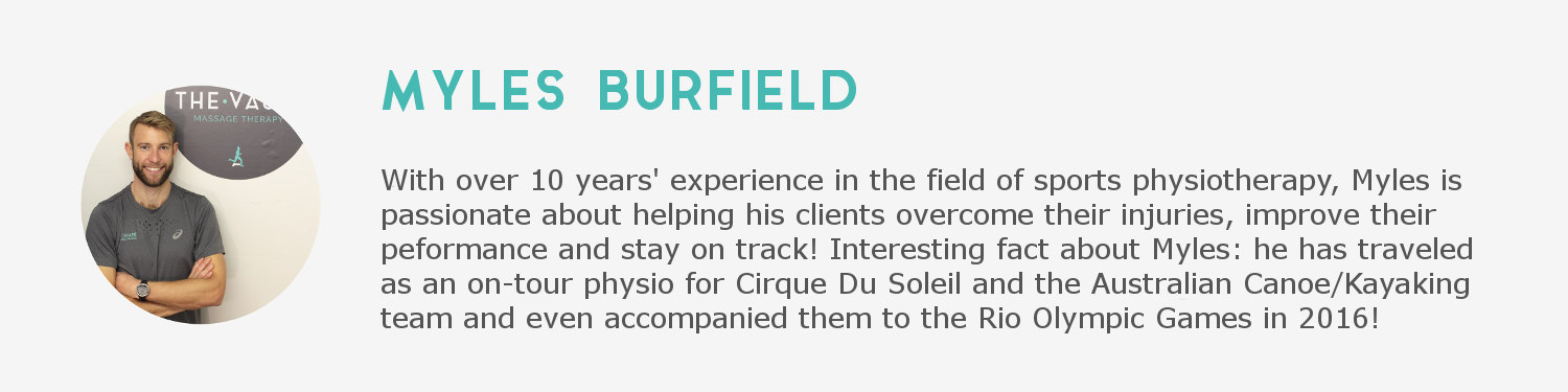 Myles Burfield Description