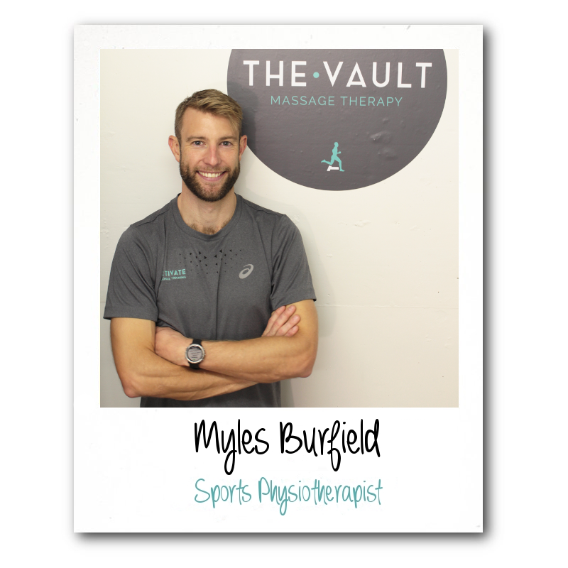 myles burfield physiotherapist