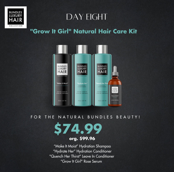 """Grow It Girl"" Natural Hair Care Kit!"