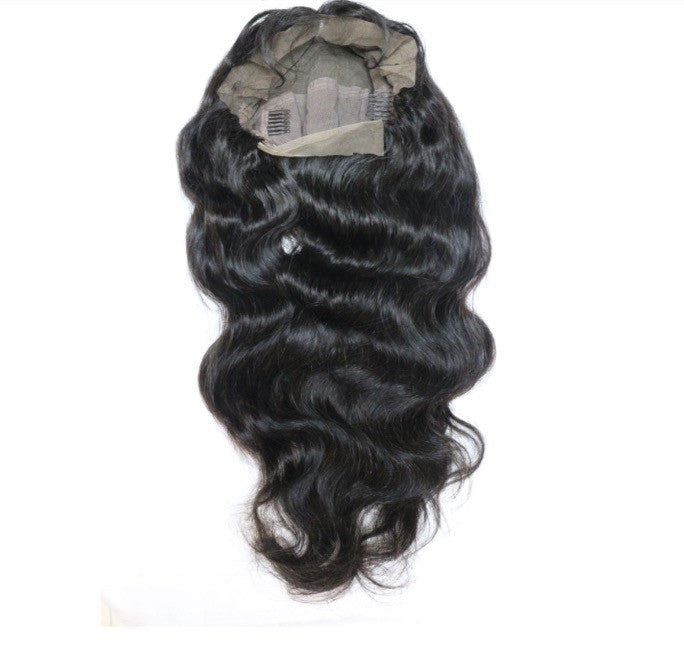 Italian Body Wave Full Lace Wig (Natural Brown or Blonde)