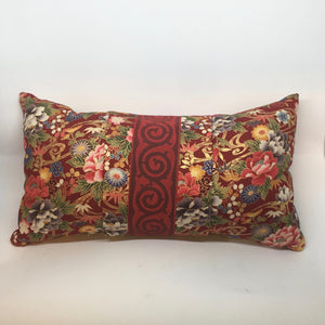 Floral with Vintage French Trim -  Pillow Pocket for your Intentions