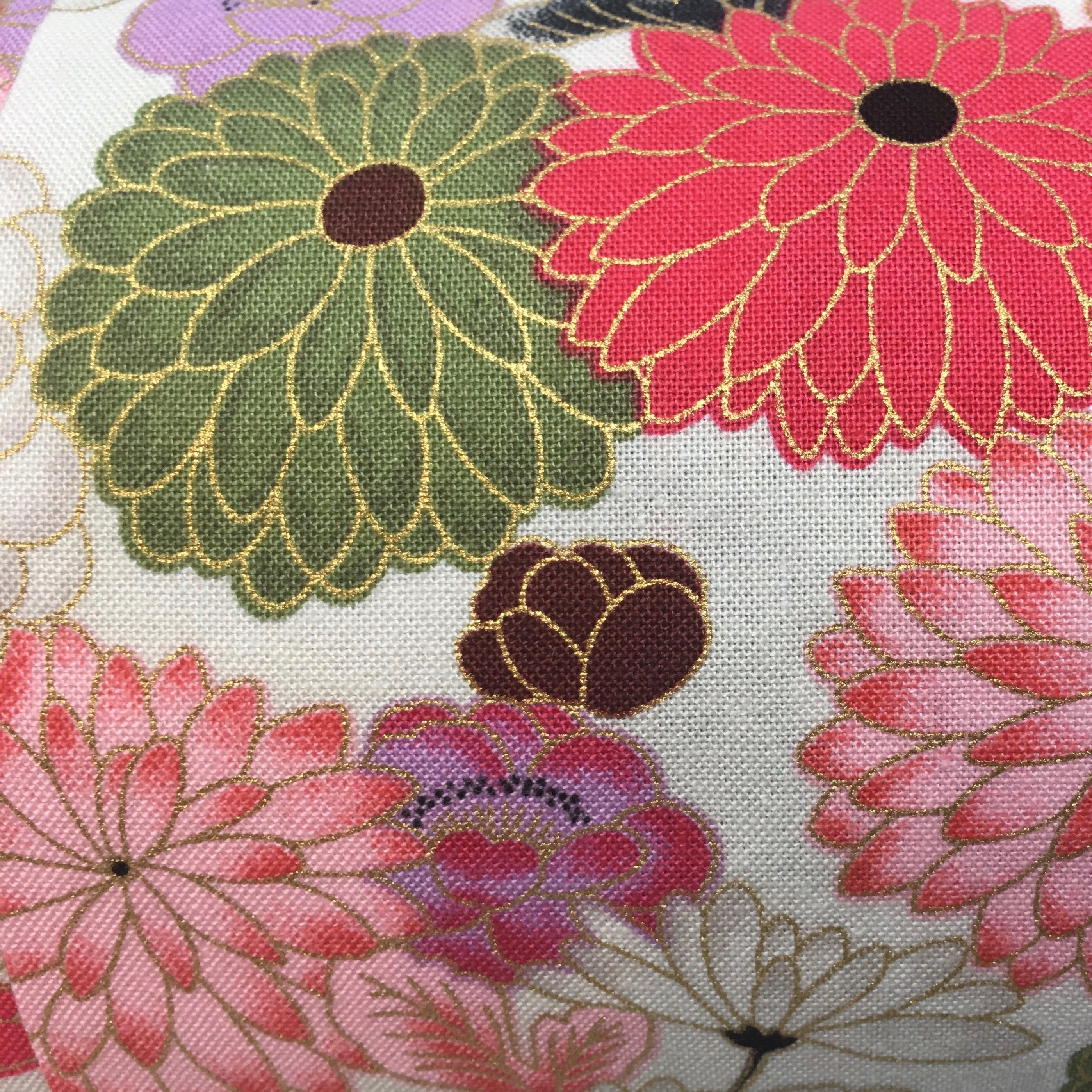 Chrysanthemums-  Pillow Pocket for your Intentions