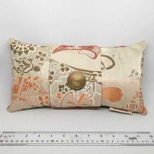 Japanese Coral -  Pillow Pocket for your Intentions