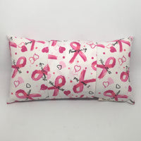 Pink Ribbons -  Pillow Pocket for your Intentions