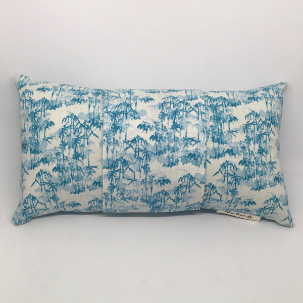 Blue Bamboo - Pillow Pocket for your Intention