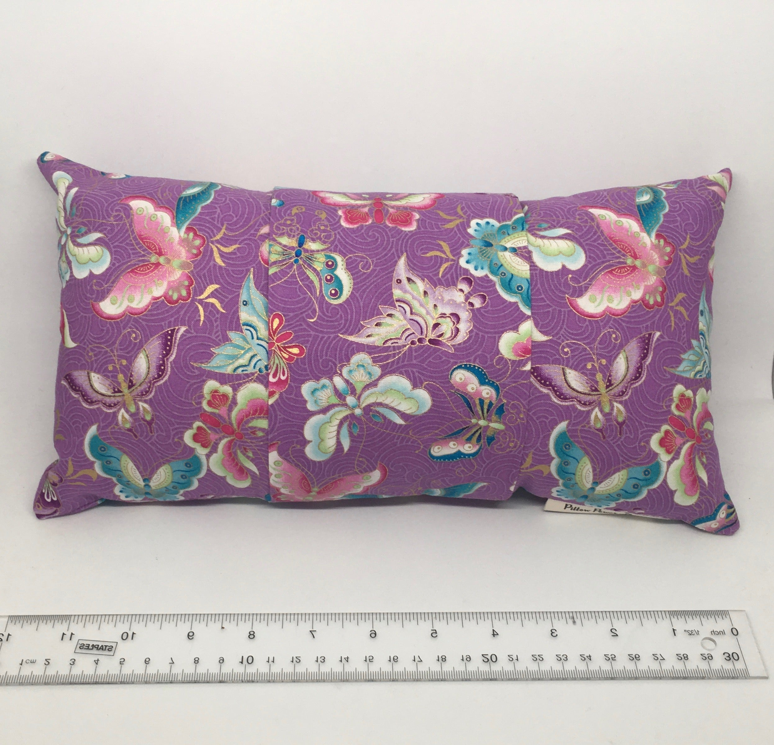 Lavender Butterflies -  Pillow Pocket for your Intentions
