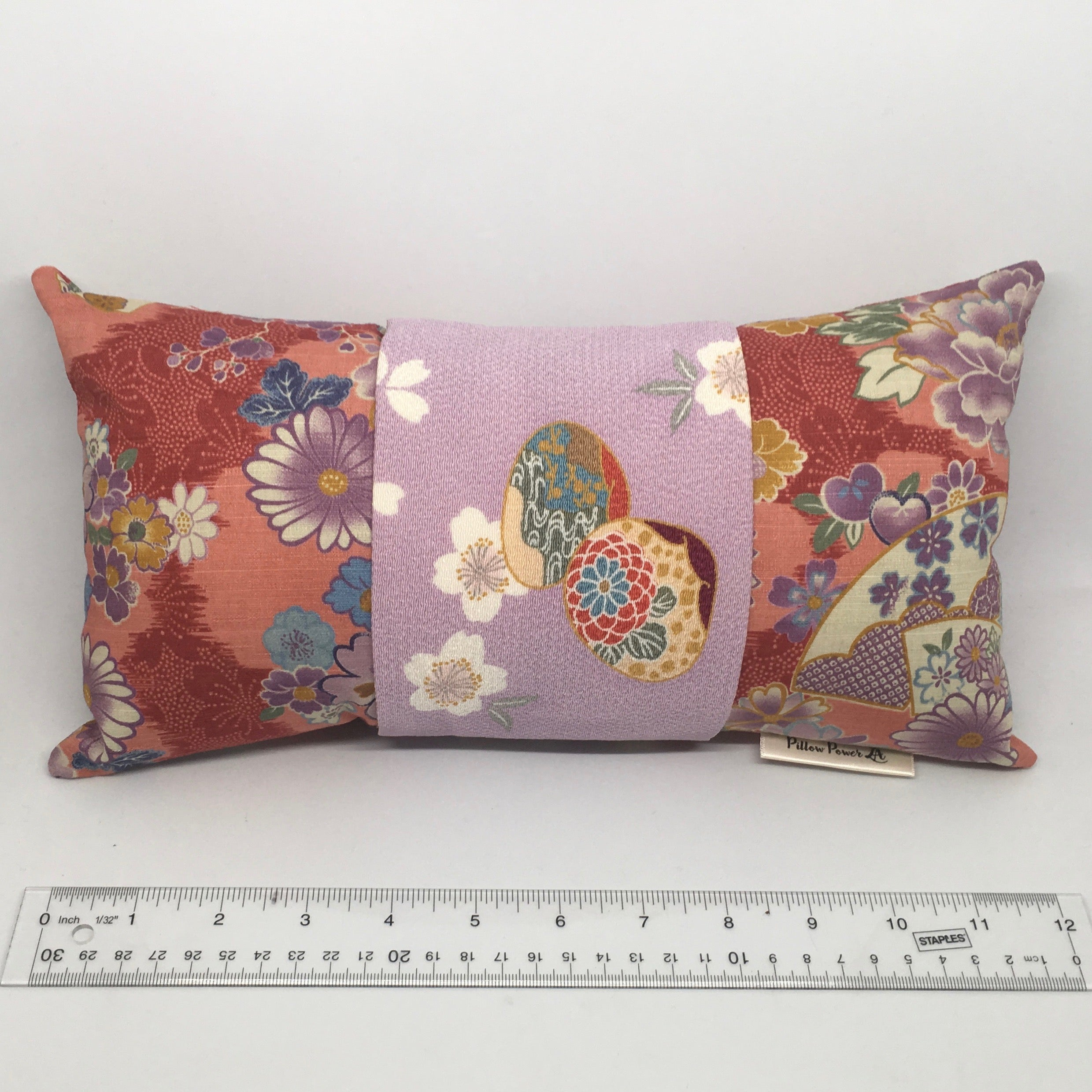 Lavender Fans -  Pillow Pocket for your Intentions