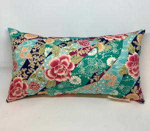 Multi Floral Japanese Blossoms - Pillow Pocket for your Intentions