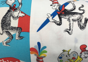 Dr. Seuss Pillow -  Pillow Pocket for your Intentions