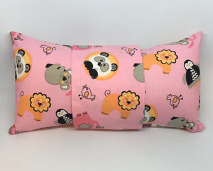 Lions & Penquins -  Pillow Pocket for your Intentions
