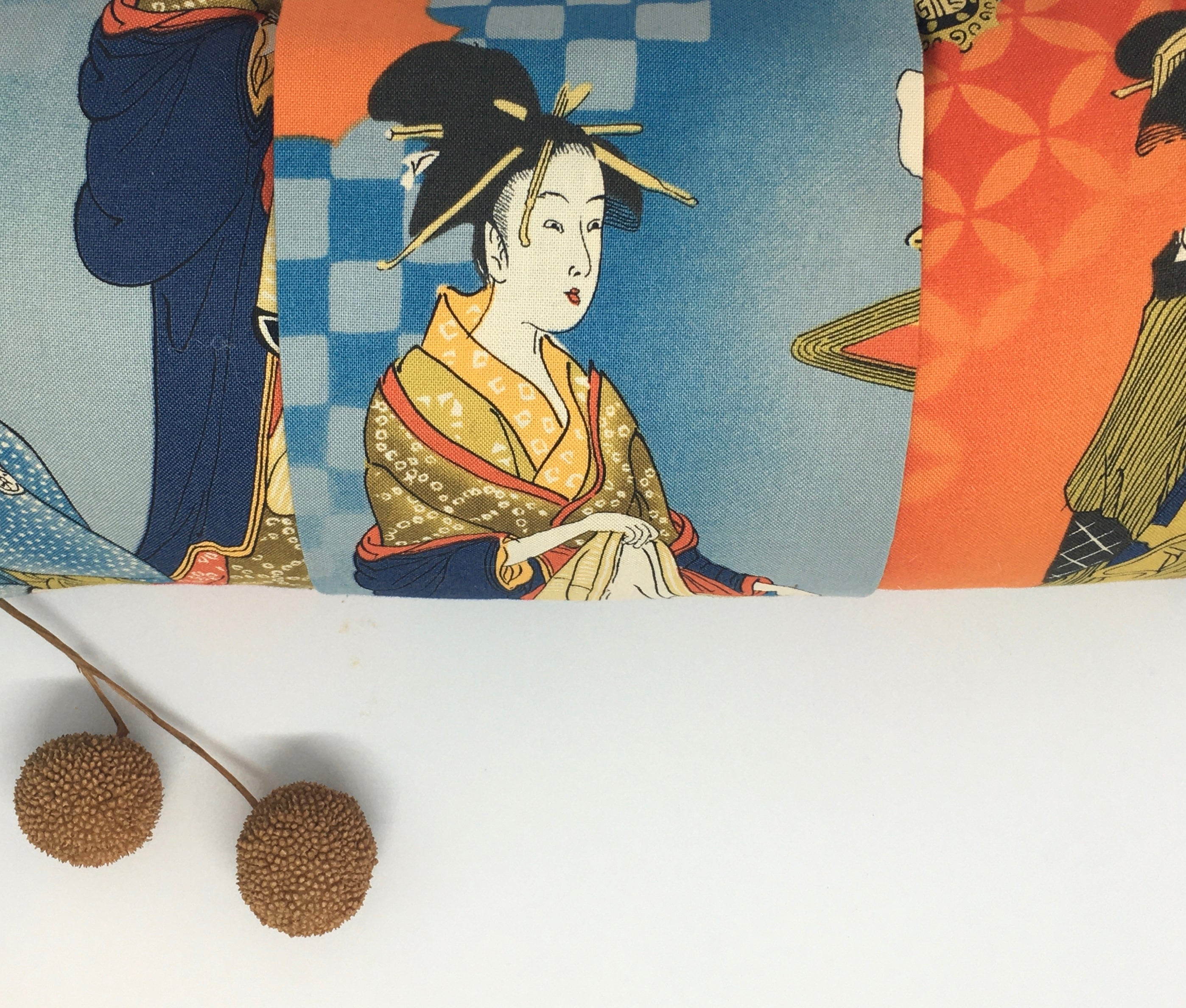 Japanese Geisha -  Pillow Pocket for your Intentions