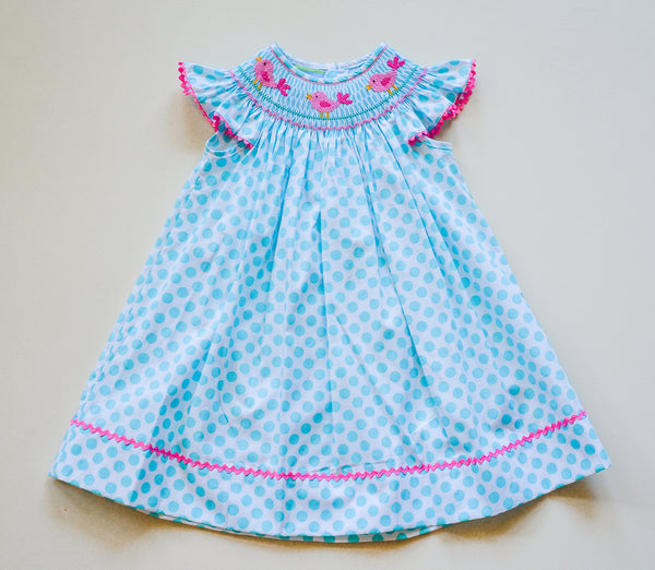 Toddler Smocked Dress