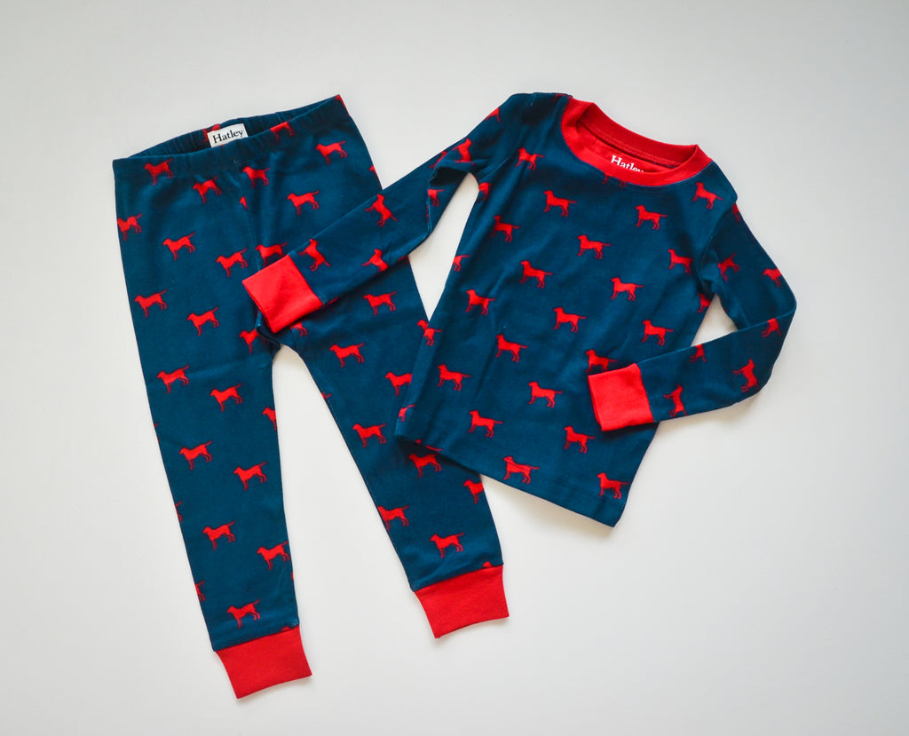 Red Labs Pajama Set