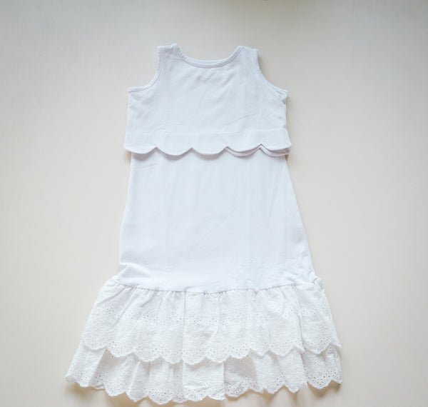 White Callie Boho Dress